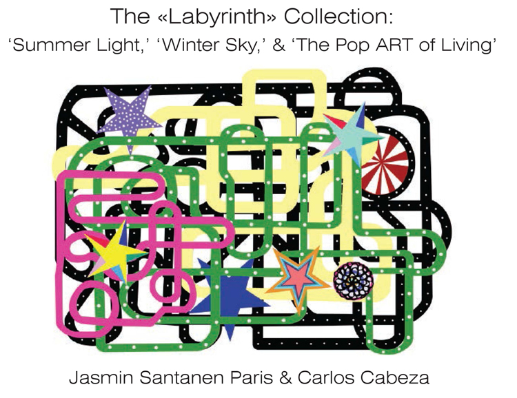 "Inspired By Finnish Mythology, Its Rich Storytelling Heritage, And In Collaboration With Contemporary Artist Carlos Cabeza, The ""Labyrinth"" Trilogy Takes Us On A Journey Within To Gradually Access Our True Potential And State Of Contentment. Sharing An Interpretation Of Sincere Joyfulness Illustrated By The Vibrant Colors, Bold Shapes And Symbols, Representative Of Cabeza's Artwork, The Exclusively Designed Prints And Graphics Celebrate The Fusion Of Art And Fashion. The Medley Of Intricate Pathways In Cabeza's Artwork Illustrates Our Mental Potential As We Navigate The ""labyrinth"" Of Our Emotions."