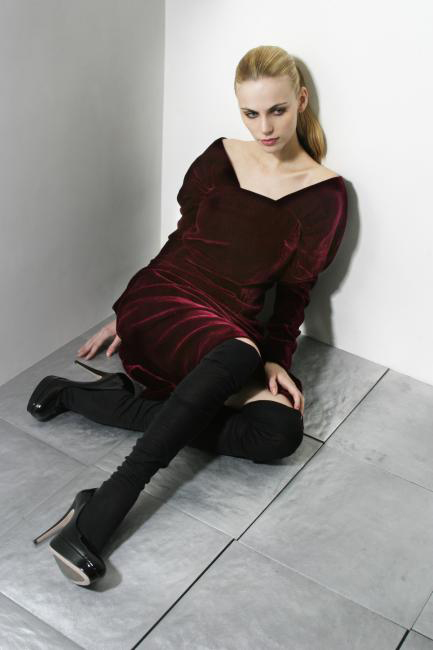 9robe Velour Rouge