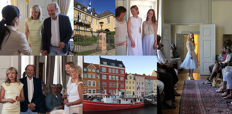 A Fashion Presentation At The Embassy Of Finland In Copenhagen