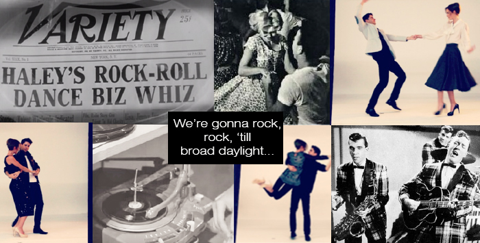 'Rock Around The Clock', The Song That Inspired A Movement And Brought People Together. At A Time When Society Was Divided, Music Was The Only Thing They Had In Common. The World Looked Entirely Different, And Rock N' Roll Was Largely Responsible.