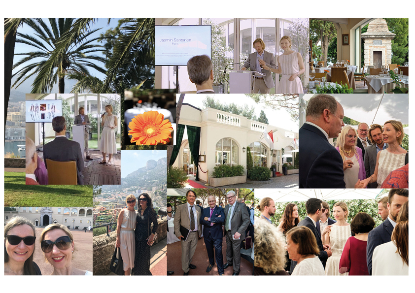 In celebration of the 25th anniversary of the Finnish Monaco Association in the presence of Prince Albert